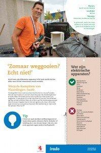 Wecycle-kampioen Jacob uit Vlaardingen