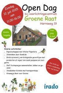 Groene Raat, open dag 12 juli 2015