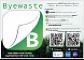 Sticker Byewaste BEST-spullen