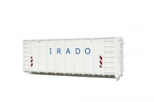 42m3 afzet (haak) container
