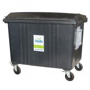 1100 liter kunststof container