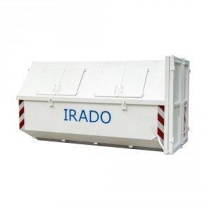 10m3 gesloten afzet (portaal) container