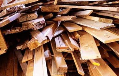 bedrijfsafval hout