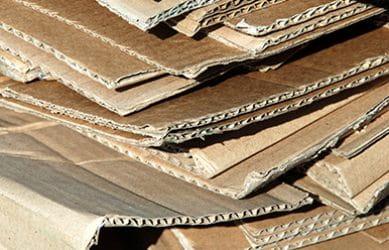 bedrijfsafval karton