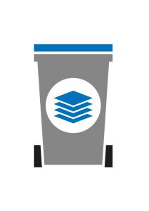 container papier/karton Vlaardingen