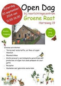 Open dag Voorlichtingscentrum De Groene Raat - Schiedam